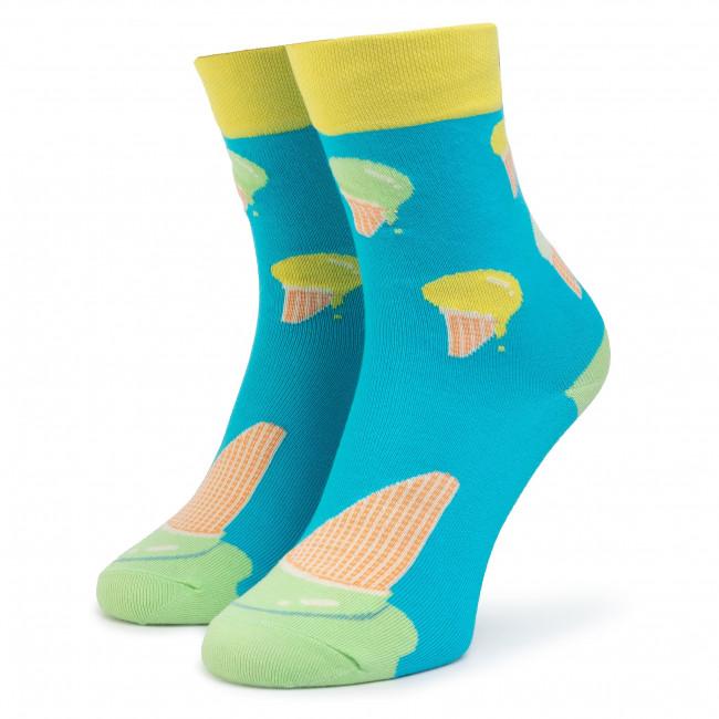 Ponožky Vysoké Unisex CUP OF SOX - Przełam lody B Niebieskie Farebná Modrá