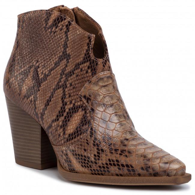 Členková obuv R.POLAŃSKI - 1026 Brąz Crocco
