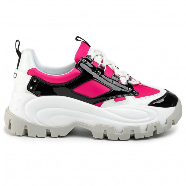 Sneakersy LIU JO Wave 01 BA0023 PX059 BlackFuxia S10F1