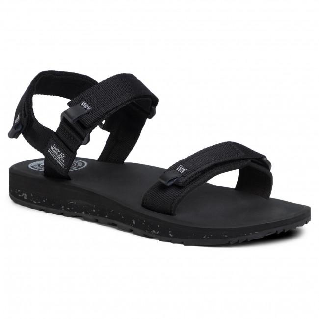 Sandále JACK WOLFSKIN - Outfresh Sandal M 4039441 Black/Ligth Grey
