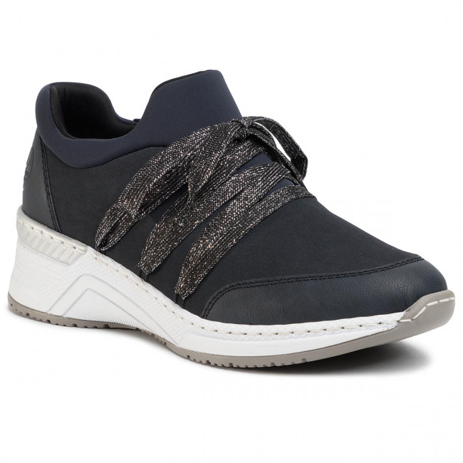 Sneakersy RIEKER - N4393-14 Blau