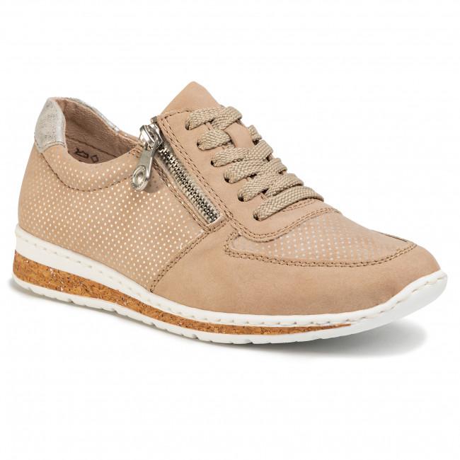 Sneakersy RIEKER - N5121-62 Gelb