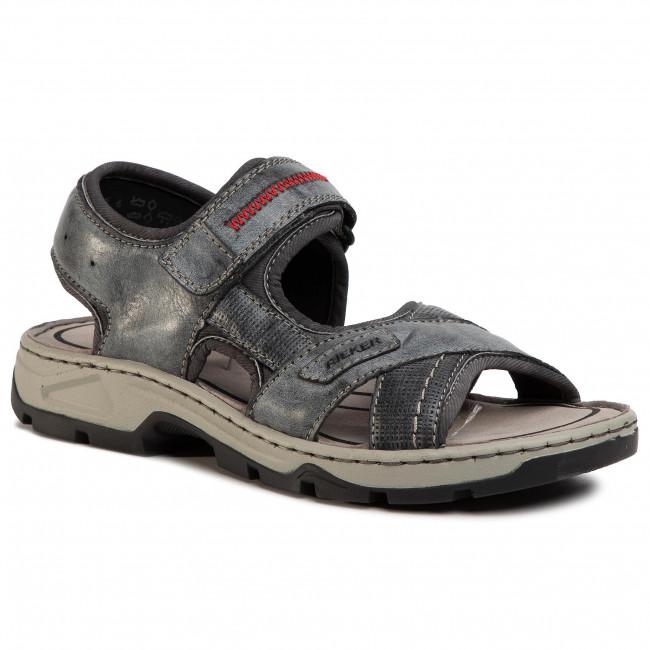 Sandále RIEKER - 26154-14 Blau