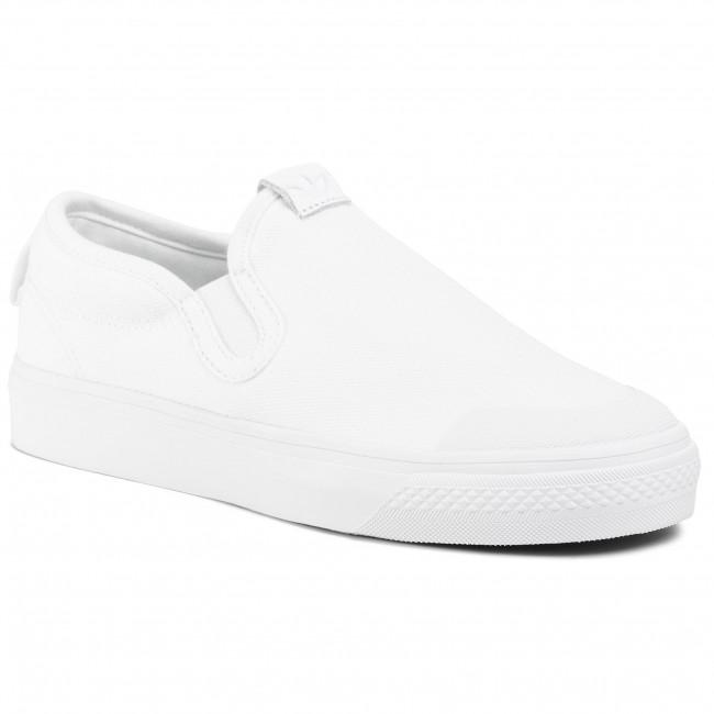Topánky adidas - Nizza Slip On EF1185  Ftwwht/Ftwwht/Ftwwht