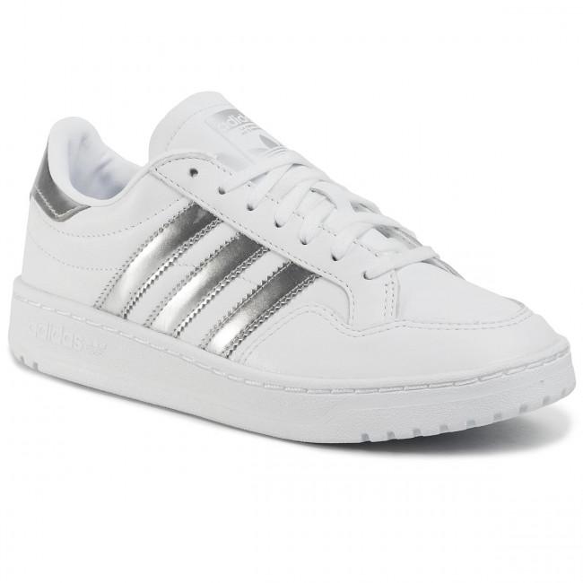 Topánky adidas - Team Court W EG9824 Ftwwht/Silvmt/Ftwwht