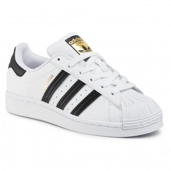 Topánky adidas - Superstar J FU7712 Ftwwht/Cblack/Ftwwht