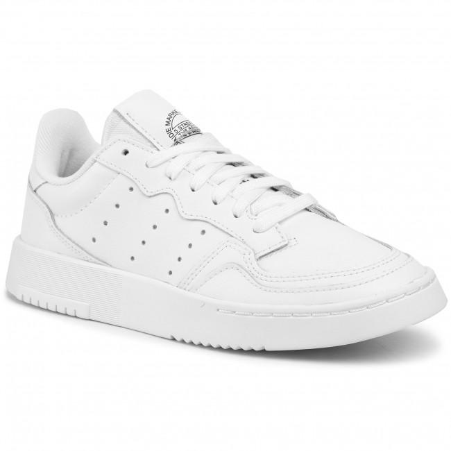 Topánky adidas - Supercourt J EE7726 Ftwwht/Ftwwht/Cblack