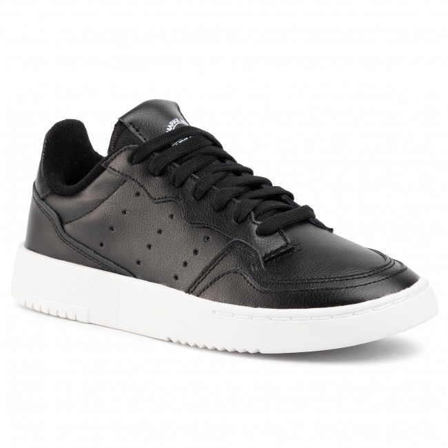 Topánky adidas - Supercourt J EE7727 Cblack/Cblack/Ftwwht