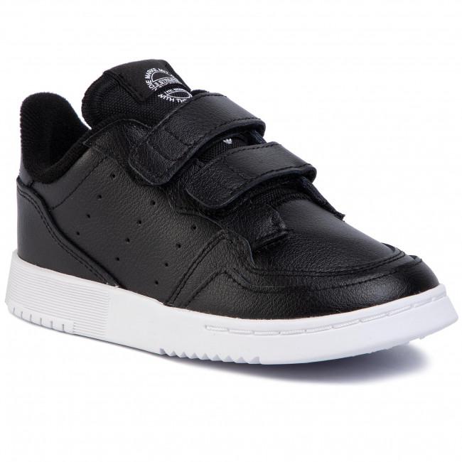 Topánky adidas - Supercourt Cf I EG0412 Cblack/Cblack/Ftwwht