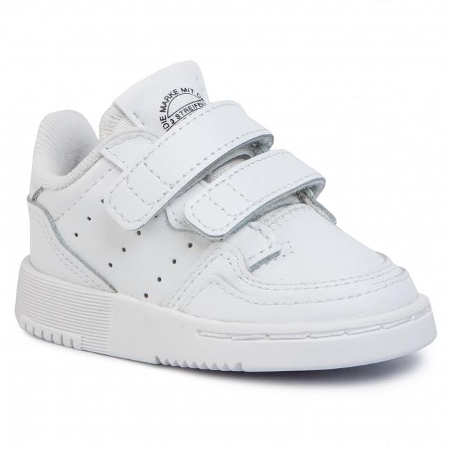 Topánky adidas - Supercourt Cf I EG0413 Ftwwht/Ftwwht/Cblack