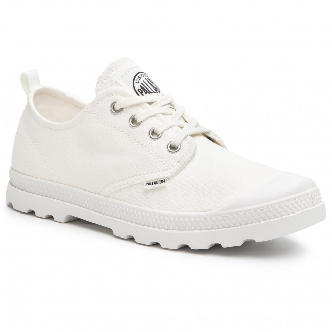 Outdoorová obuv PALLADIUM - Lp Low Cvs W 96709-116-M White