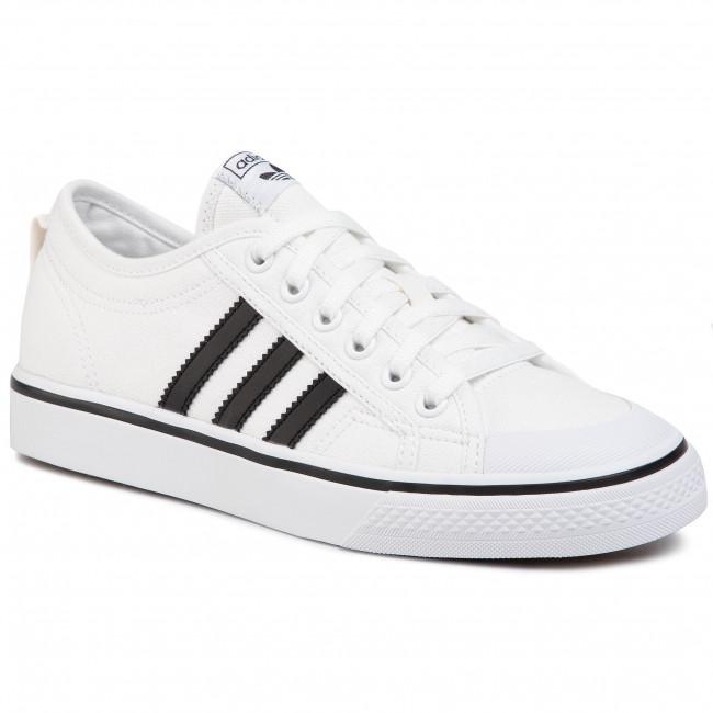Topánky adidas - Nizza J EF5140 Ftwwht/Cblack/Ftwwht