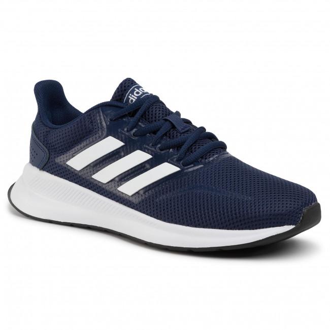 Topánky adidas - Runfalcon K EG2544 Dkblue/Ftwwht/Cblack