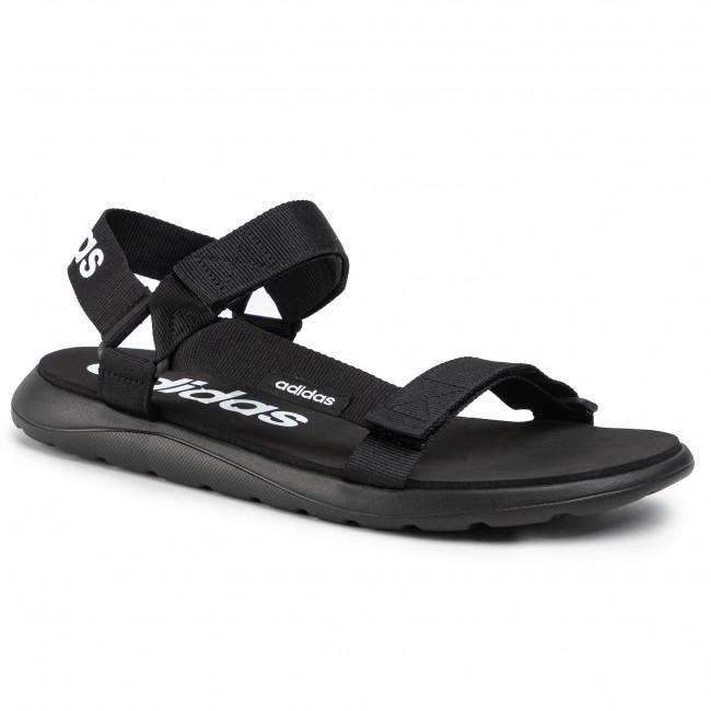 Sandále adidas - Comfort Sandal EG6514 Cblack/Cblack/Ftwwht