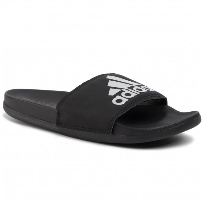 Šľapky adidas - adilette Comfort G28386  Cblack/Silvmt/Cblck