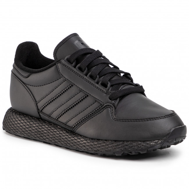 Topánky adidas - Forest Grove J EG8959  Cblack/Cblack/Cblack