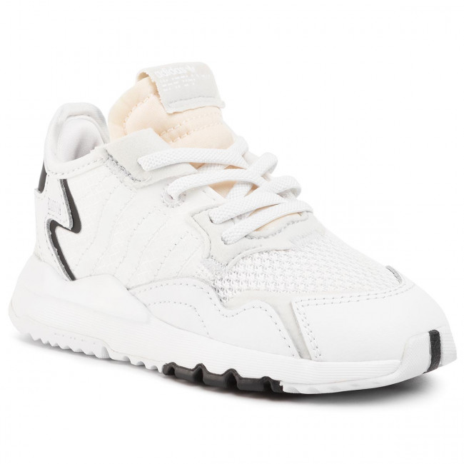 Topánky adidas - Nite Jogger El I EE6479 Ftwwht/Ftwwht/Crywht