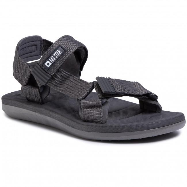Sandále BIG STAR - FF174501  Dark Grey