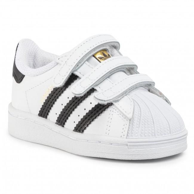 Topánky adidas - Superstar Cf I EF4842  Ftwwht/Cblack/Ftwwwwht