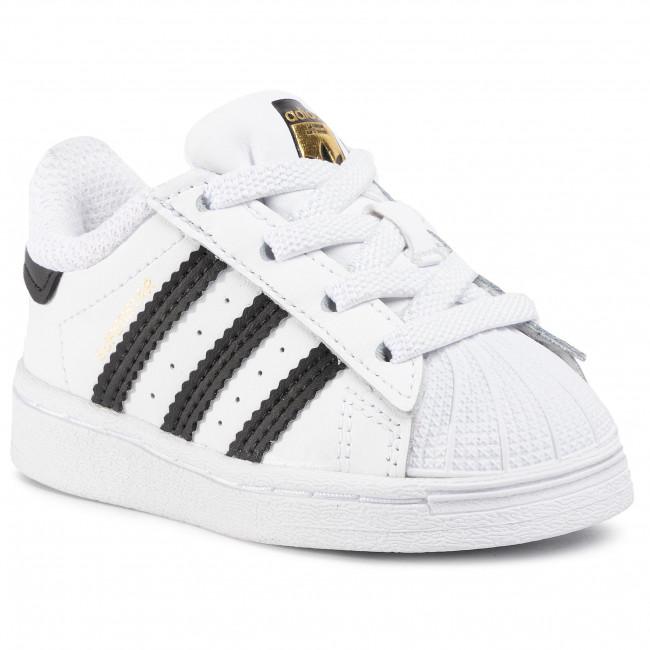 Topánky adidas - Superstar El I FU7717 Ftwwht/Cblack/Ftwwht