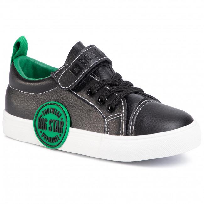 Sneakersy BIG STAR - FF374087 Black/Green