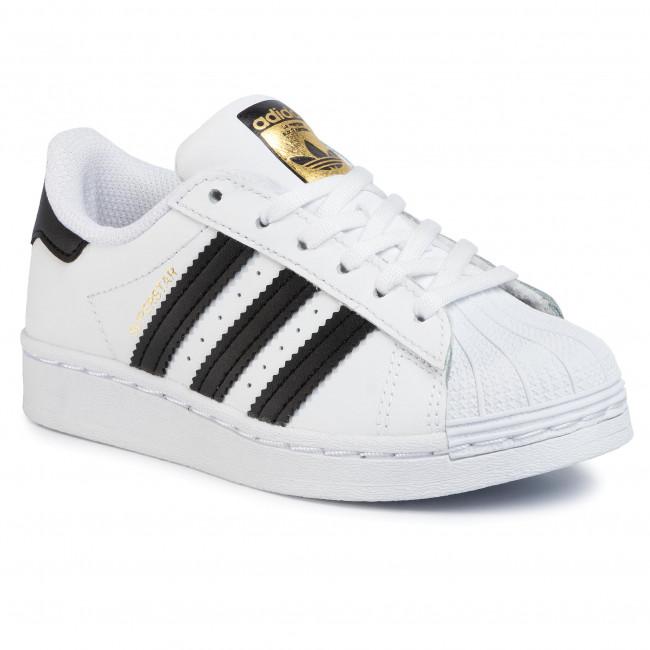 Topánky adidas - Superstar C FU7714  Ftwwht/Ftwwht/Ftwwht