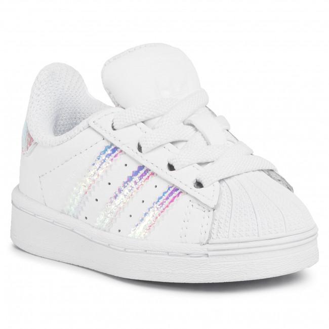 Topánky adidas - Superstar El I FV3143  Ftwwht/Ftwwht/Ftwwht