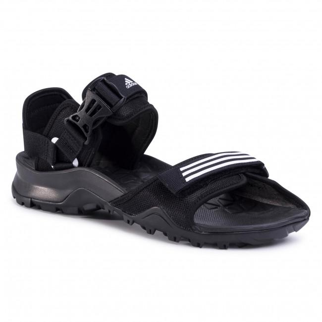 Sandále adidas - Cyprex Ultra Sandal Dlx EF0016 Cblack/Ftwwht/Cblack