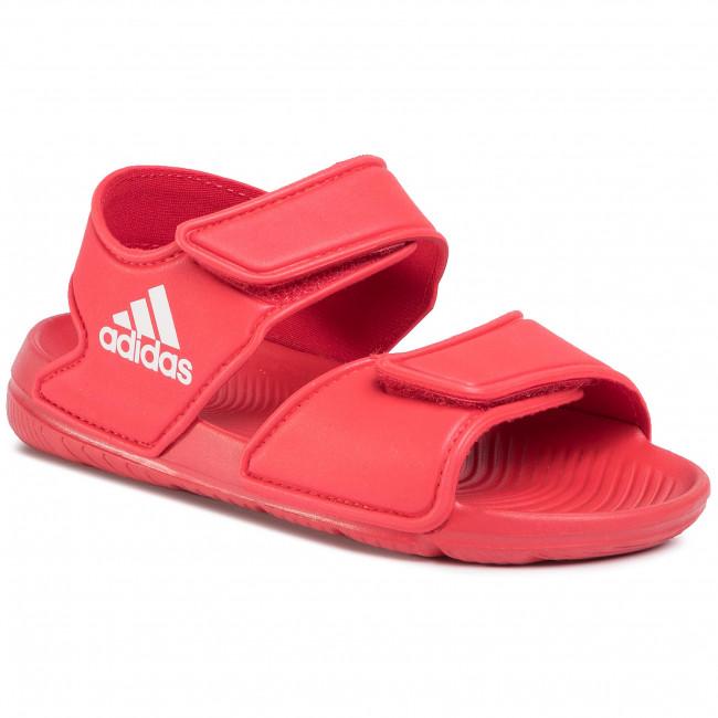 Sandále adidas - Altaswim C EG2136 Scarle/Ftwwht/Scarle