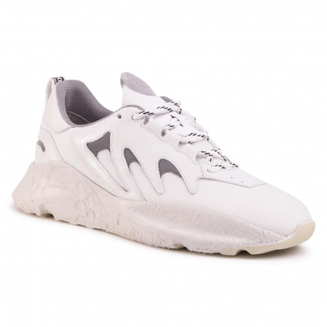 Sneakersy ROBERTO CAVALLI - 661/Z/SF A Bianco