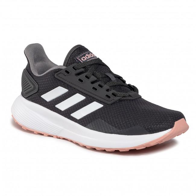 Topánky adidas - Duramo 9 EG8672  Greysix/Ftwwht/Pnkspi