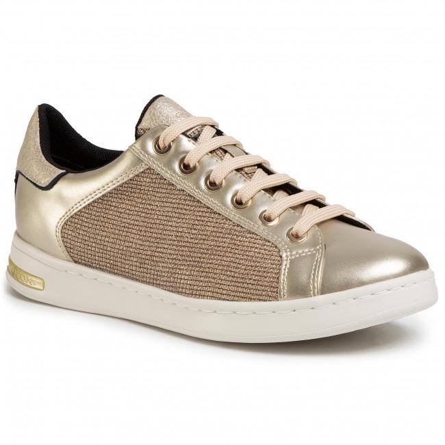 Sneakersy GEOX - D Jaysen D D021BD 0ASAJ C2X2L  Gold/Lt Gold