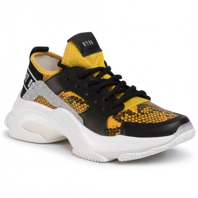 Sneakersy STEVE MADDEN - Ajax SM11000586-04005-718 Ylw Snake