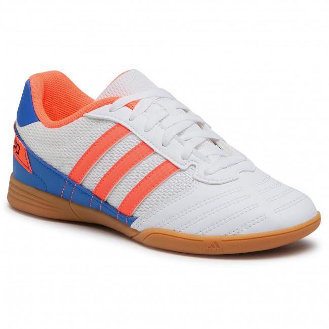 Topánky adidas - Super Sala J FV2633 Ftwwht/Sigcor/Globlu