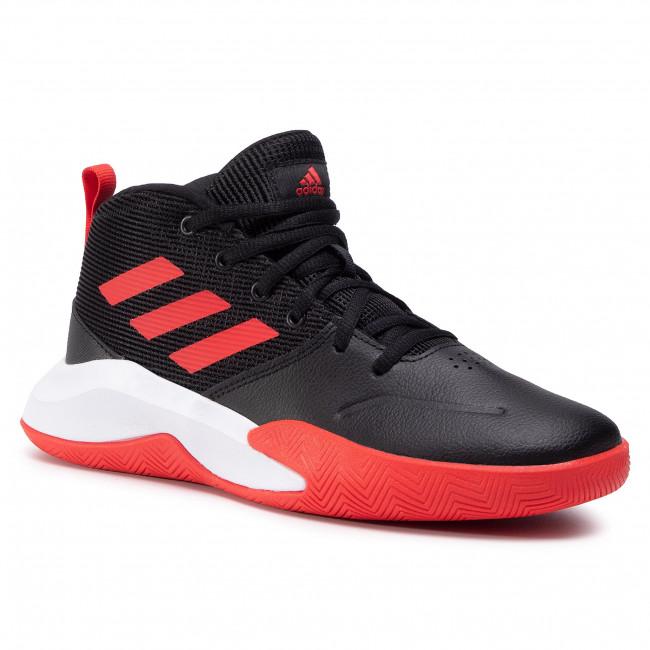 Topánky adidas - Ownthegame K Wide EF0309 Black/Black/Black