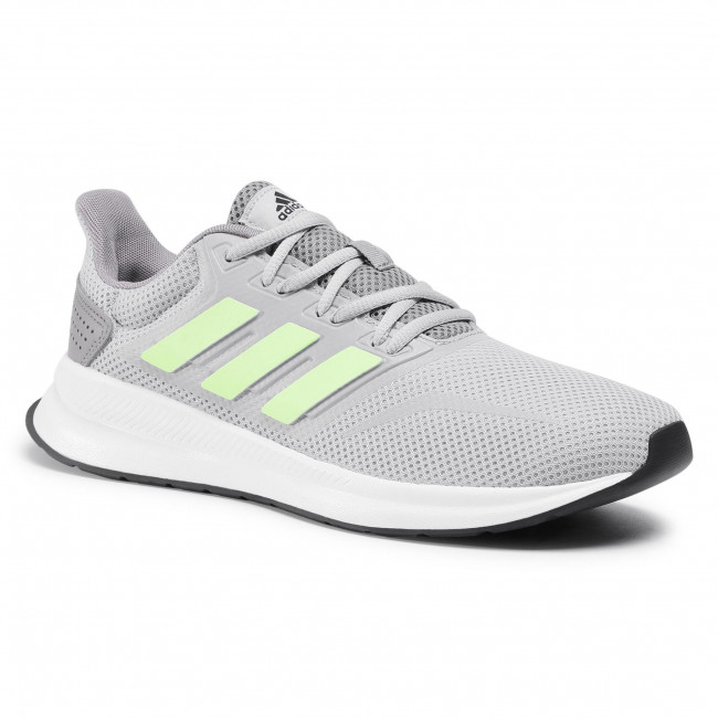 Topánky adidas - Runfalcon FW5043 Grey Two/Signal Green/Dove Grey