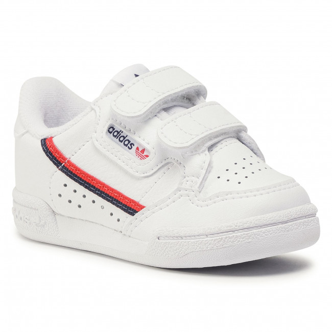 Topánky adidas - Continental 80 Cf I EH3230  Ftwwht//Ftwwht/Scarle