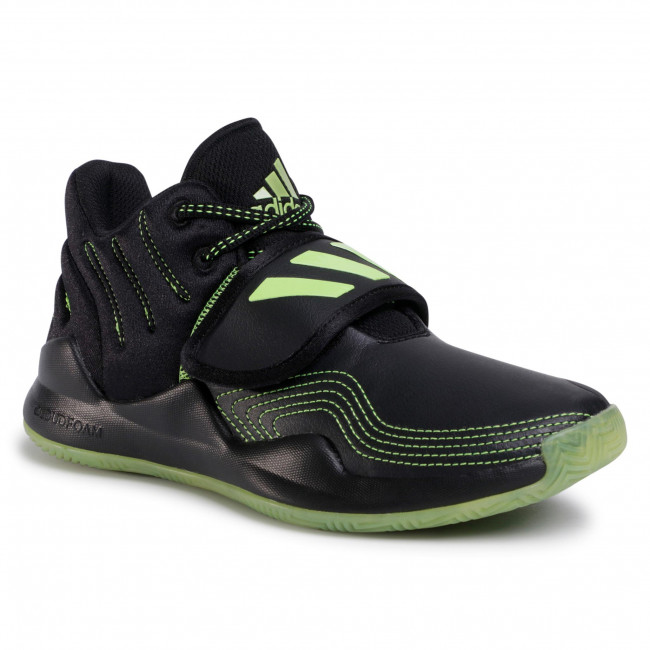 Topánky adidas - Deep Threat J FW8526 Cblack/Siggnr/Cblack