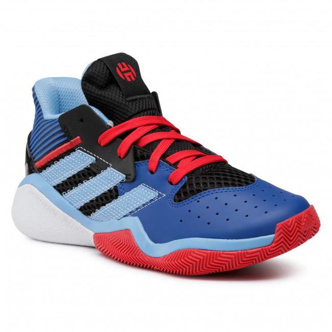 Topánky adidas - Harden Stepback J FW8542 Cblack/Tmlgbl/Croyal