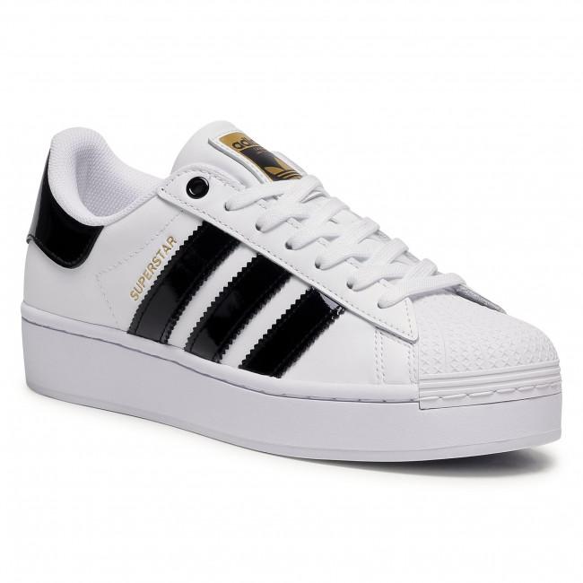Topánky adidas - Superstar Bold W FV3336 Ftwwht/Cblack/Goldmt