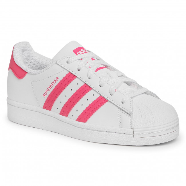 Topánky adidas - Superstar J FW0773 Ftwwht/Suppnk/Cblack