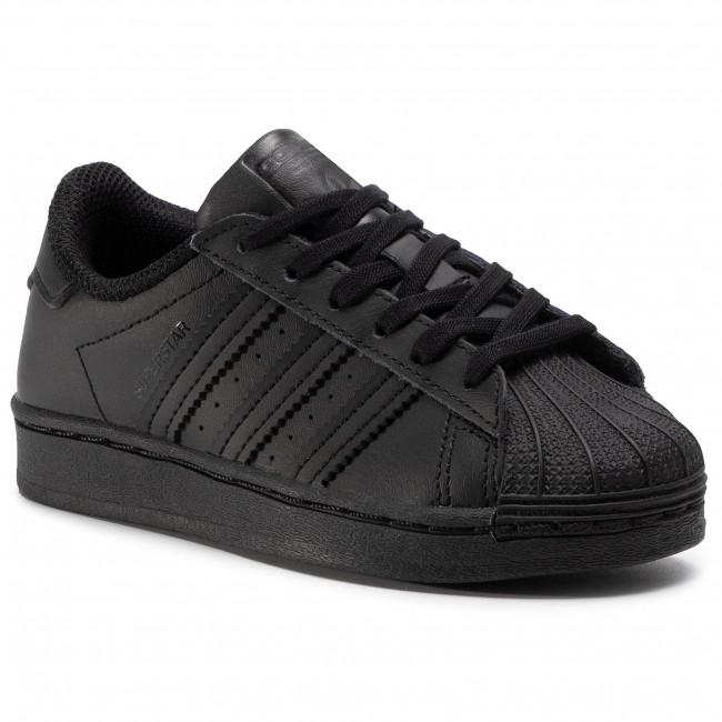 Topánky adidas - Superstar C FU7715 Cblack/Cblack/Cblack
