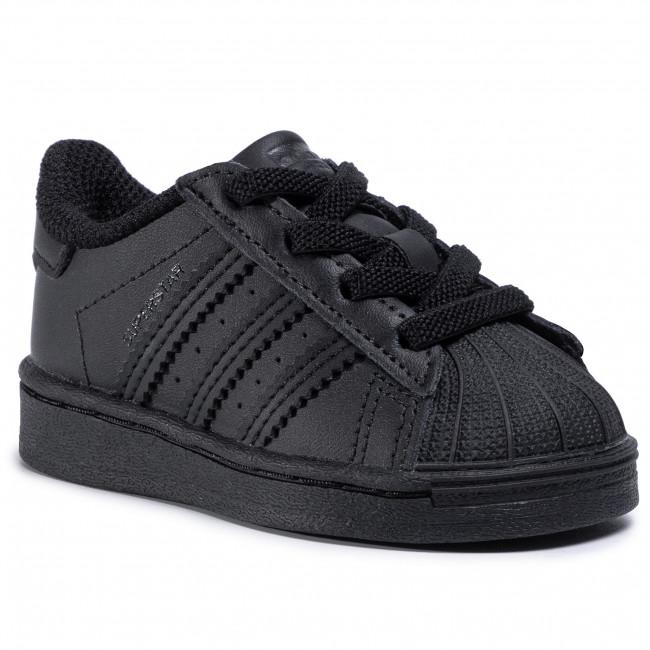 Topánky adidas - Superstar El I FU7716 Cblack/Cblack/Cblack