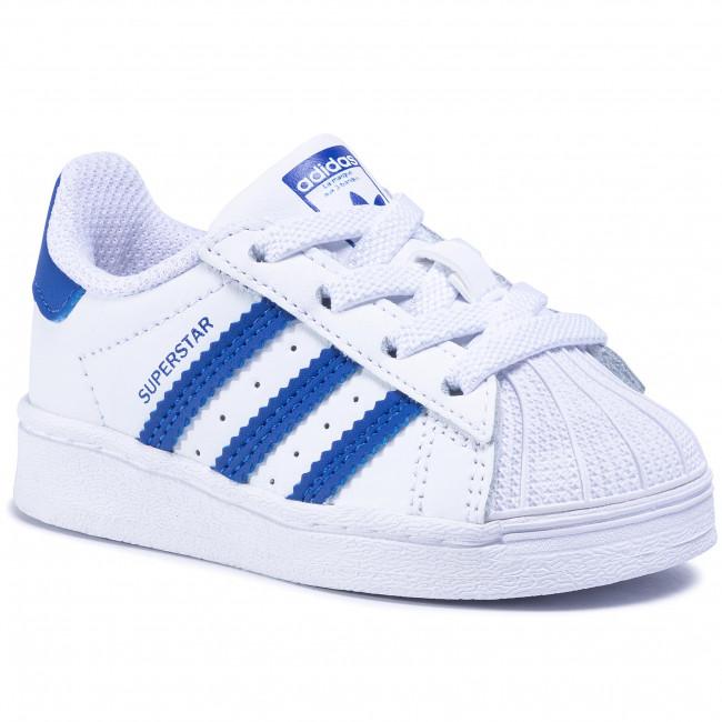 Topánky adidas - Superstar El I FW0768  Ftwwht/Royblu/Ftwwht