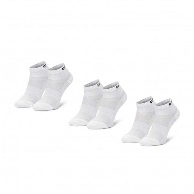 Súprava 3 párov kotníkových ponožiek unisex Reebok - Te Ank Sock 3P GH0420  White