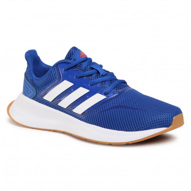 Topánky adidas - Runfalcon K FV8838 Royal Blue/Cloud White/Semi Solar Red