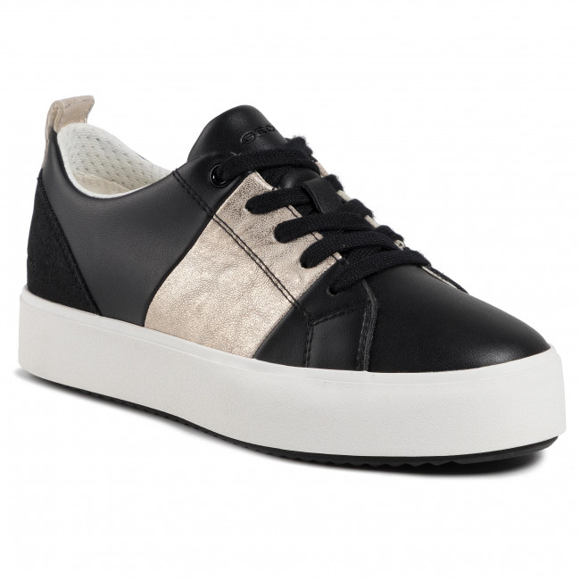 Sneakersy GEOX - D Blomiee H. A D02DZA 0BCBN C9258  Black/Lt Gold
