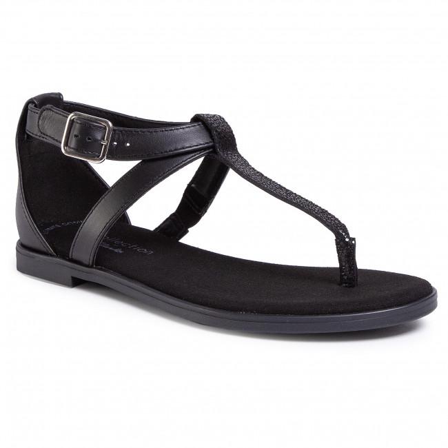 Sandále CLARKS - Bay Post 261493484  Black Interest