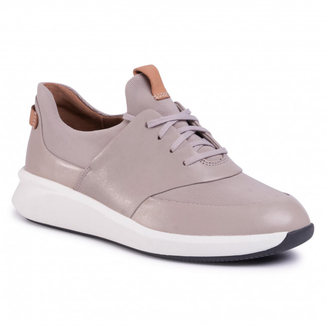 Sneakersy CLARKS - Un Rio Lace 261476064 Stone Leather