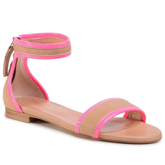 Sandále TWINSET - Sandalo 201TCP014  Bic.Desert/Fuxi 04826
